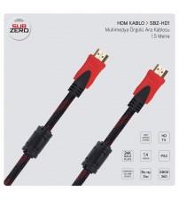 1.5 Metre Hdmı Kablo Hasır Örgülü
