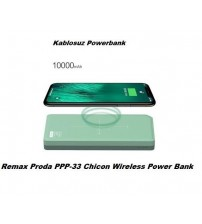 PPP-33 Chicon Remax Proda Kablosuz Powerbank 10000 mAh