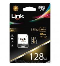 128 GB Link Tech Hafıza Kartı Ultra 4K M112