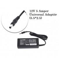 12V 5 Amper Üniversal Adaptör (5.5*2.5)