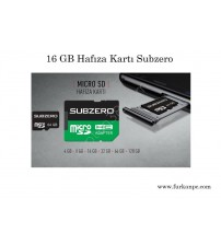 16 GB Subzero Hafıza Kartı