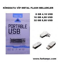 16 GB USB BELLEK KİNGDATA VİP METAL