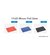 17x23cm Mouse Pad 2mm