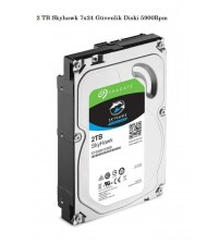 PC HD 2TB Skyhawk 7x24 Güvenlik Hardiski 5900Rpm