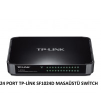 24 PORT TP-LİNK SF1024D MASAÜSTÜ SWİTCH