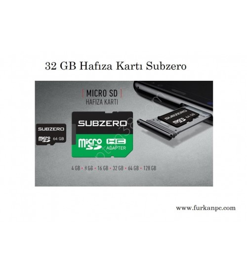 32 GB Subzero Hafıza Kartı