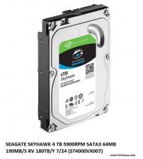 4 TB Skyhawk 7x24 Güvenlik Diski 5900Rpm