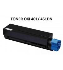 451DN/ 401DN Oki Muadil Toner