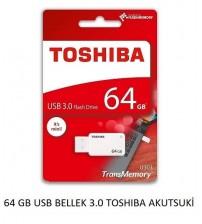 64 GB USB BELLEK 3.0 TOSHIBA AKUTSUKİ