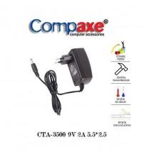 9V 2 Amper Üniversal Adaptör (5.5*2.5) Compaxe CTA-3500