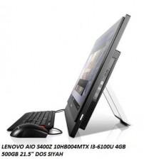 "ALL İN ONE LENOVO AIO S400Z 10K2002HTX I3-6100U 4GB 500GB 21.5"" DOS BE"