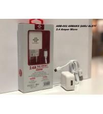 ARB-002 Arbaks Şarj Aleti Micro 2.4 Amper