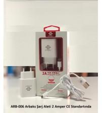 ARB-006 Arbaks Şarj Aleti Micro 2 Amper CE Standartında