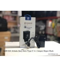 ARB-023 Arbaks Şarj Aleti Type-C 4.1 Amper Süper Hızlı