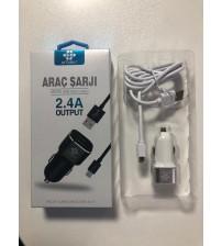 ARB-027 Arbaks Araç Şarj Aleti Micro 2.4 Amper Şimşek