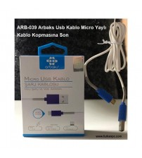 ARB-039 Arbaks Usb Kablo Micro Yaylı