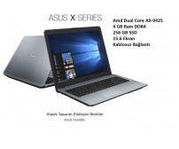 Asus Laptop X540BA-GQ782 AMD A9 9425 4GB 256GB SSD 15.6