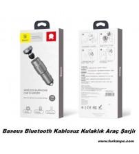 Baseus Bt Kablosuz Kulaklık Araç Şarjlı