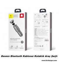 Baseus Bluetooth Kablosuz Kulaklık Araç Şarjlı