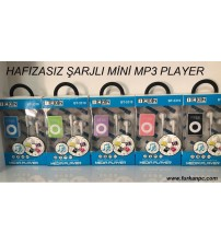 BT-3310 Plastik Şarjlı Mp3 Player