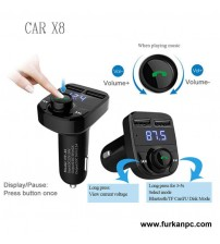 CAR X8 Bluetooth Fm Transmitter