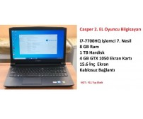 Casper 2. EL Laptop İ7-7700HQ 8GB 1TB GTX1050 4GB 15.6