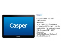 "Casper Tablet Via S20 32Gb Hafıza 3Gb Ram 10.1"" 1920x1200 İps"