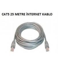 25Mt Cat5 İnternet Kablo