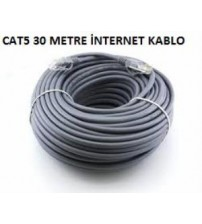 30Mt Cat5 İnternet Kablo
