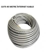 45Mt Cat5 İnternet Kablo
