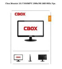 """Cbox Monitör 18.5""""1850MPV 1366x768 5MS 60Hz Vga"""