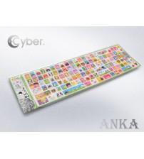 ÇİZGİ FİLM KARAKTER STİCKER PD-1408