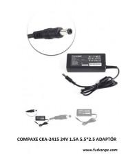 CKA-2415 Compaxe 24V 1.5A 5.5*2.5 Adaptör