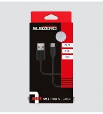 CL23 Subzero Usb Kablo Type-C 2,10 Amper