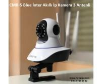 CMR-5 Blue İnter Akıllı İp Kamera 3 Antenli