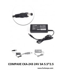 COMPAXE CKA-243 24V 3A 5.5*2.5 ADAPTÖR