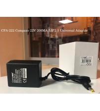CPA-222 Compaxe 22V 200MA 5.5*2.5 Üniversal Adaptör
