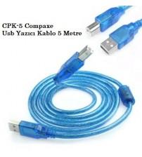 CPK-5 Compaxe Usb Yazıcı Kablo 5 Metre