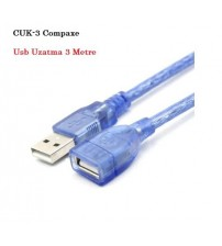 CUK-3 Compaxe Usb Uzatma Kablo 3Mt