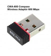 CWA-600 Compaxe Usb Wireless Adaptör 600 Mbps