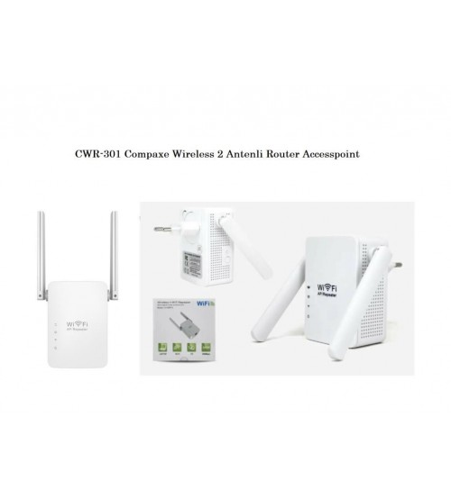 CWR-301 Compaxe Wireless 2 Antenli Router Accesspoint