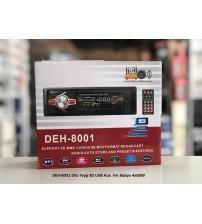 DEH-8001 Oto Teyp SD USB Aux  Fm Radyo 4x60W