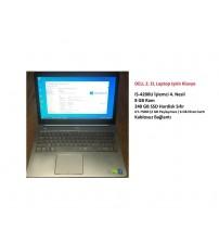 Dell 2. EL Laptop İ5-4200U İşlemci 8GB 240 GB SSD 2 Gb Vga 15.6