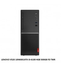 DESKTOP MASAÜSTÜ LENOVO V520 10NK001XTX i3-6100 4GB 500GB FD TWR