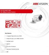DS-2CE16D0T-IRPF Hıkvision 2MP 3.6MM AHD Bullet Kamera