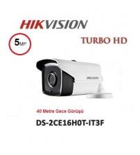 DS-2CE16H0T-IT3F Haıkon 40M 5MP Ahd Kamera Bullet 3,6mm