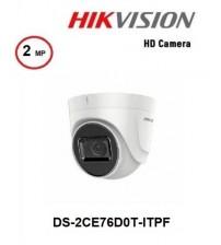 DS-2CE76D0T-ITPF Hıkvısıon 2MP 2.8MM Ahd Kamera Dome