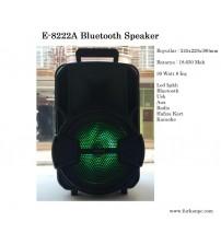 "E-8222 Bluetooth Speaker 8"""