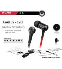 ES-120Vİ Awei Kablolu Kulaklık Turbo Bass