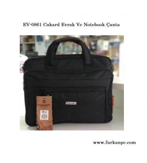 EV-0861 Cakard Evrak Ve Notebook Çanta